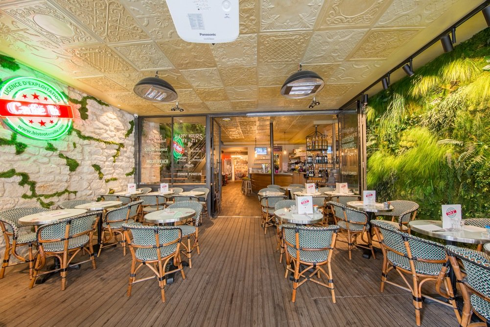 Café H - 5 Rue du Faubourg Montmartre, 75009 Paris