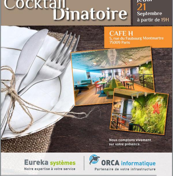 Invitation cocktail dinatoire 2017
