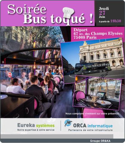 (Français) Soirée Bus toqué : jeudi 27 juin 2019 à 19h30